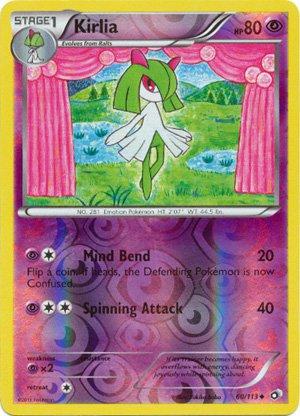 Kirlia #60/113 Pokemon Legendary Treasures Uncommon Reverse Holofoil
