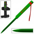 Zombie Killer Defense Spike Triangular Blade- Green