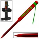 Zombie Killer Defense Spike Triangular Blade- Red