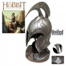 The Hobbit Rivendell Elf Helm by United Cutlery with Certificate of Authenticity