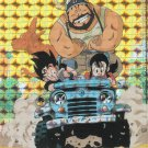 1996 Dragon Ball Z Prism Foil Hologram Trading Card- Goku's Family #04