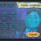2001 Harry Potter Quidditch Cup TCG Rare Premiere Portraits Hologram- Neville Longbottom #15