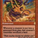 Burning Sands #180 Magic The Gathering Odyssey Red Rare