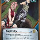 Naruto CCG Emerging Alliance 1st Edition Rare- Captivity #M480