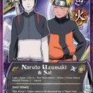 Naruto CCG Emerging Alliance 1st Edition Rare- Naruto Uzumaki & Sai #N608