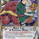 Naruto CCG Emerging Alliance 1st Edition Uncommon Foil- Rock Lee & Tortoise Ninja #N633