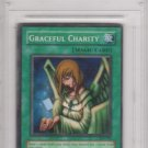 2003 Yu-Gi-Oh! GX Joey and Pegasus Super Rare Card Graceful Charity #SDP-040 Graded 10 Gem-Mt