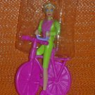Bicyclin' Barbie with Hair You Can Style 1994 McDonald's Happy Meal Toy