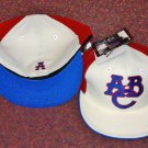 Atlanta Black Crackers Authentic Negro League Museum Fitted Baseball Cap Size 7 1/2