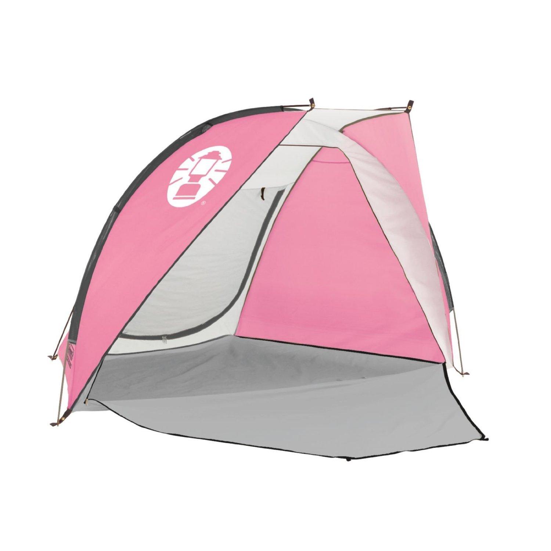 Coleman Shade Shelter : Coleman compact shade shelter pink
