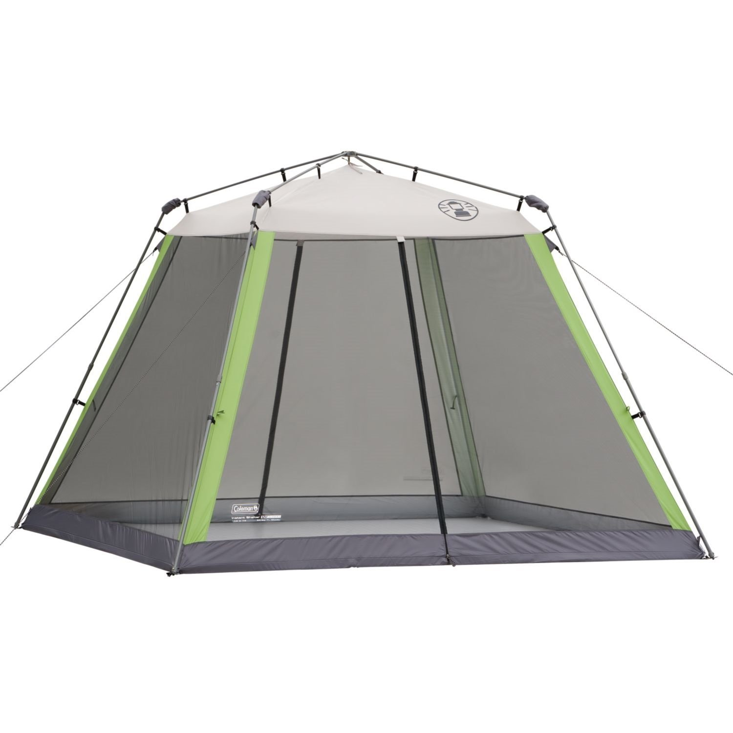 10 10 Instant Canopy : Coleman  instant screened canopy green