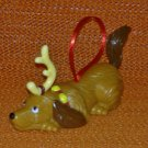 Max Pull Back Racer Ornament Dr. Suess' How the Grinch Stole Christmas Wendy's Kid's Meal Toy