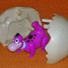 Puppy Dino Breaks Out The Flintstones Burger King Kid's Meal Toy #8
