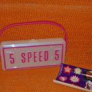 Speed Racer Plastic License Plate Purse 2008 McDonald's Happy Meal Toy #7