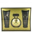 Kim Kardashian Gold Gift Set 3.4 Oz Eau De Parfum Spray, 3.4 Oz Body Lotion, 3.4 Oz Body Wash