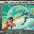 Goku Struggles with Meta Cooler 2002 Artbox Dragonball Z Film Cardz Animation Cell #58