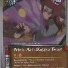 Ninja Art: Kujaku Beast Naruto CCG Approaching Wind Common Foil #J345