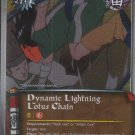 Dynamic Lightning Lotus Chain Naruto CCG Approaching Wind Rare Foil #J348