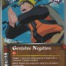 Genjutsu Negation Naruto CCG Fateful Reunion 1st Edition Uncommon Foil #J489