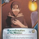 Reconfirmation of the Mission Naruto CCG Broken Promise 1st Edition Rare #M596
