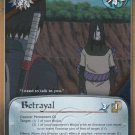 Betrayal Naruto CCG Foretold Prophecy 1st Edition Rare Foil #M502