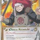 Choza Akimichi Naruto CCG A New Chronicle 1st Edition Rare #N516