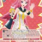 """Megurine Luka""""Rin-chan's #2 Fan"""" - PD/S22-E059 Uncommon Weiss Schwarz Hatsune Miku Project Diva"""