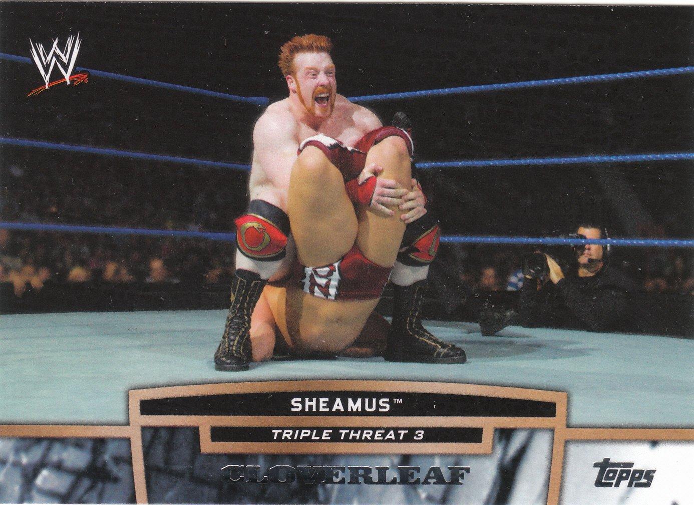 Sheamus 2013 Topps WWE Triple Threat Tier Three #TT30