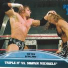 Triple H vs. Shawn Michaels 2013 Topps Best of WWE Top 10 Rivalries #6