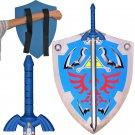 Link Triforce Zelda Foam LARP/Cosplay Shield and Twilight Princess Sword Set Legend of Zelda