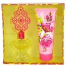 Betsey Johnson By Betsey Johnson Gift Set -- 3.4 Oz Eau De Parfum Spray + 6.7 Oz Body Lotion
