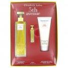 5th Avenue By Elizabeth Arden Gift Set 4.2 Spray, .12 Oz Mini, 3.3 Oz Body Lotion