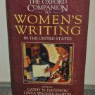 The Oxford Companion to Women's Writing in the United States (Hardcover)