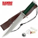Rambo First Blood 1 Standard Edition Replica Knife with Survival Kit
