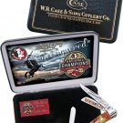 Case 2013 Florida State National Championship Commemorative Stockman