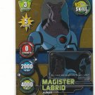 Ben 10 Alien Force Highbreed Invasion TCG Magister Labrid #130-R Rare Gold Holofoil