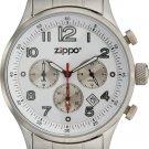 Men's Chronograph White Dial Zippo Watch