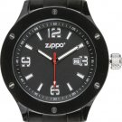 Men's Zippo Work Series Black with Black Dial Watch