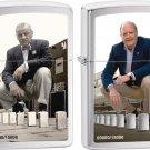 A Series In Time: George G. Blaisdell/ George B. Duke Zippo Lighter Set