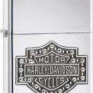 Harley-Davidson Bar & Shield with Crystals Zippo Lighter