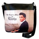 Elvis Synthetic Leather This Land is Mine Messenger Bag