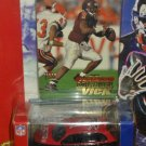2001 Fleer Collectibles NFL Atlanta Falcons 1:58 scale PT Cruiser with Michael Vick Rookie Card
