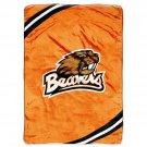 "Oregon State University Royal Plush Raschel 60"" x 80"" Blanket"