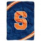 """Syracuse University Royal Plush Raschel 60"""" x 80"""" Blanket"""