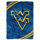 "West Virginia University Royal Plush Raschel 60"" x 80"" Blanket"
