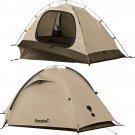 Eureka Down Range Solo - 1 Person Tactical (TCOP) Tent- Tan