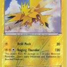 Zapdos 23/108 Pokemon XY Roaring Skies Rare Reverse Holofoil