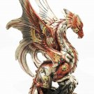 Steampunk Cyborg Dragon Figurine Home Decor Accent