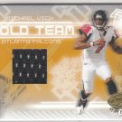 2005 Leaf Certified Materials Gold Team Jersey #21 Michael Vick