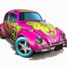 Volkswagen Beetle Hot Wheels Treasure Hunt HW City HW Art Cars 2015 #26/250